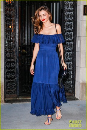 Miranda Kerr looks stunning in NYC