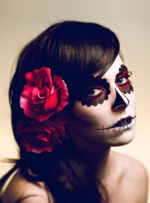 caveira-mexicana-maquiagem