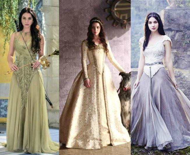 Vestidos da série Reign
