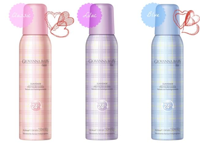 Desodorante Giovanna Baby