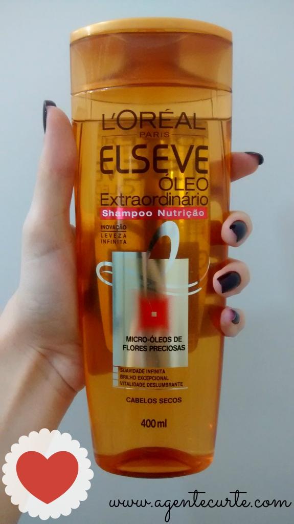 Usei e Gostei: Shampoo Elseve Óleo Extraordinário