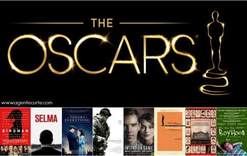 Os filmes indicados ao oscar 2015